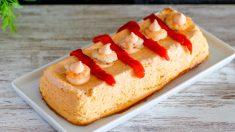 Receta de Pastel de merluza y langostinos fácil de preparar