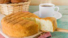 Receta de Bizcocho de espelta y queso fácil y saludable