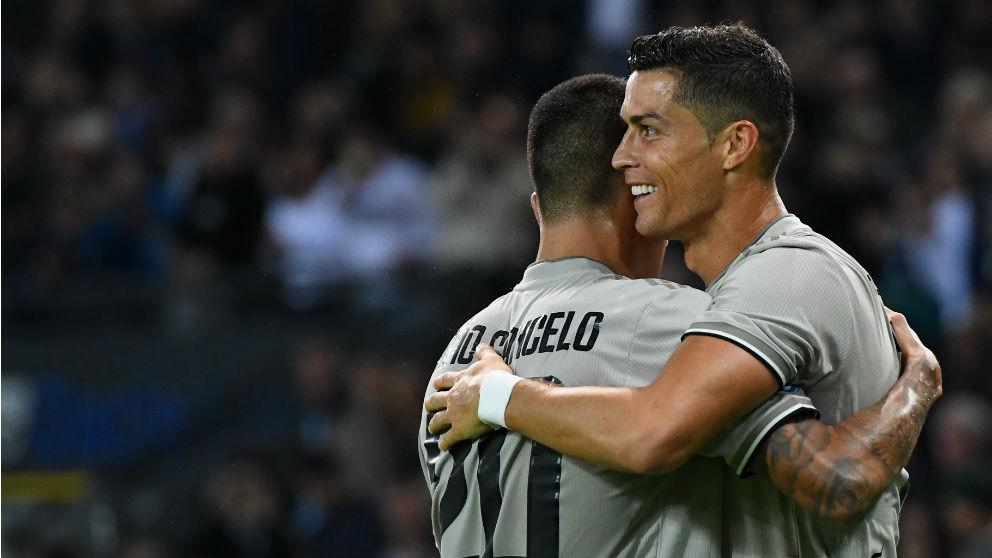 Cristiano celebra un gol. (Getty)