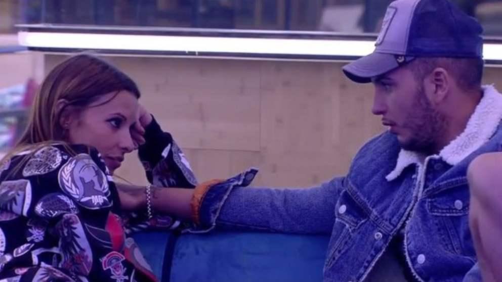 Techi y Omar se reconcilian en 'GH VIP 2018' (Foto: Telecinco)