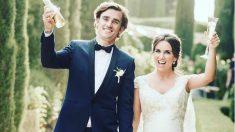 Antoine Griezmann y su esposa, Erika Choperena, esperan su segundo hijo