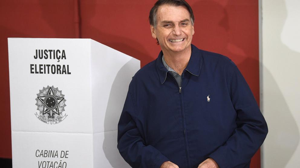 Jair Bolsonaro en una reciente imagen (Foto: AFP)