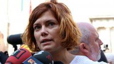 La portavoz de Catalunya en Comú, Elisenda Alamany.