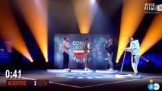 La prueba grupal de la semana en 'GH VIP 2018'. (Foto: Telecinco)