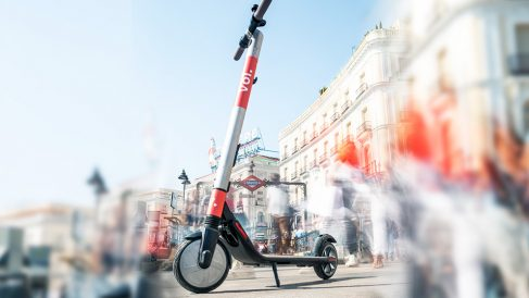 La empresa sueca VOI ha desembarcado en Madrid con su servicio de patinetes eléctricos (Foto: VOI)