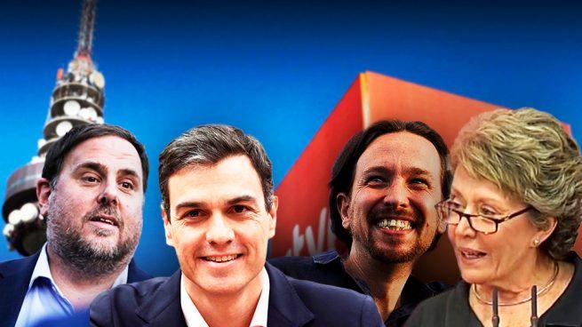 Profesionales de TVE exigen el cese de Rosa María Mateo por la entrevista al golpista Junqueras