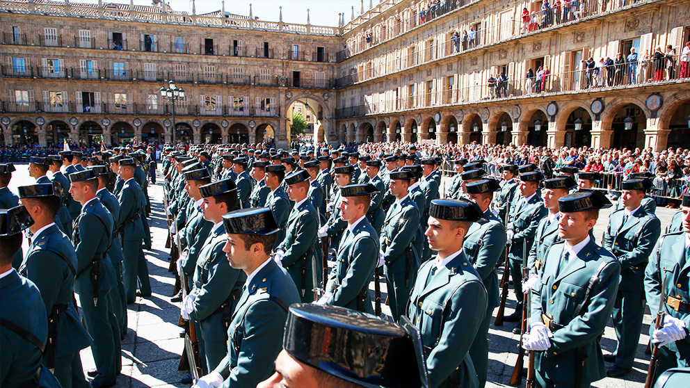 La Guardia Civil celebra la Fiesta del Pilar en Salamanca (EUROPAPRESS)