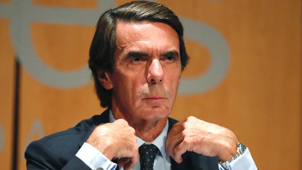 El expresidente del Gobierno, José María Aznar (Foto: Efe)