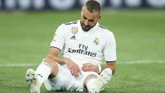Karim Benzema durante el Alavés – Real Madrid. (Getty)