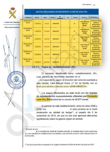 Díaz decidió convocar ya elecciones al destaparse que altos cargos gastaron dinero público en puticlubs