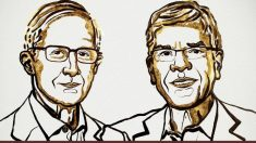 Imagen de los dos premios Nobel
