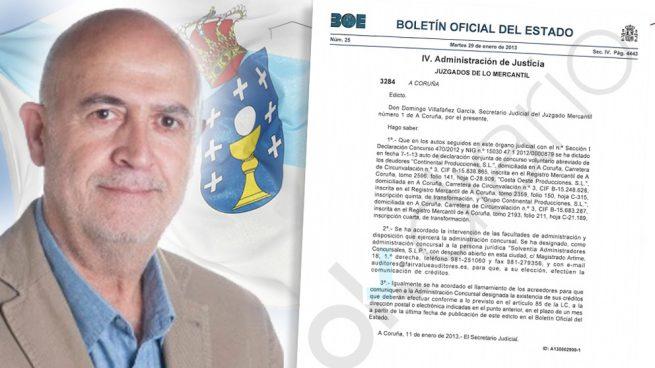 El diputado de Podemos en Galicia, Francisco Casal