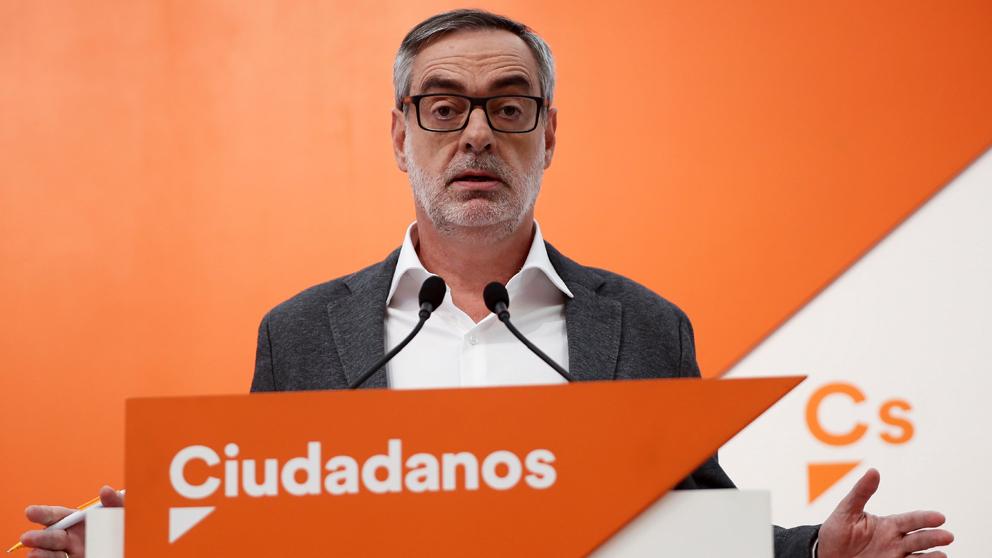 José Manuel Villegas, secretario general de Ciudadanos. (Foto: EFE)