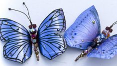 Si te gustan las mariposas, con botellas de plástico puedes hacerlas fácilmente