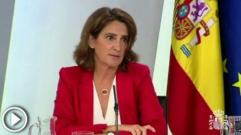 "La ministra para la Transición Ecológica, Teresa Ribera, se inventa las ""familias monomarentales"""