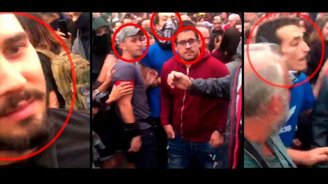 Estos son los 'valientes' que han agredido y escupido a Cristina Seguí