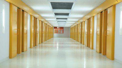 Una cárcel española vacía.
