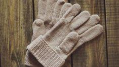 Aprende a tejer guantes de lana
