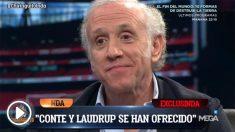Conte y Laudrup están atentos a un posible despido de Lopetegui.
