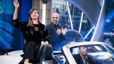 Luis Tosar y Michelle Jenner han disfrutado en 'El Hormiguero'