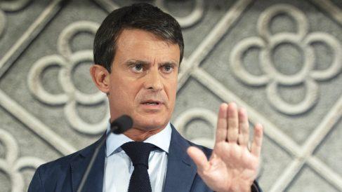 Manuel Valls, candidato a la Alcaldía de Barcelona. (Foto: AFP)