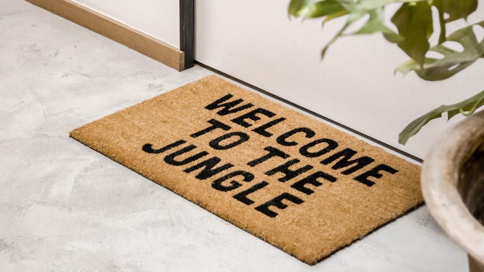 Personaliza tu felpudo y dale un toque muy especial a la entrada de tu casa