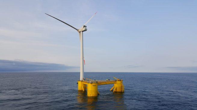 Proyecto de Cobra (ACS). Planta comercial eólica offshore en Aberdeen