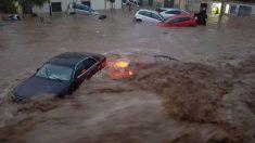 Inundaciones en Mallorca.