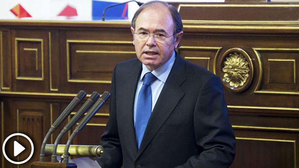 Pío García Escudero, portavoz del PP en el Senado