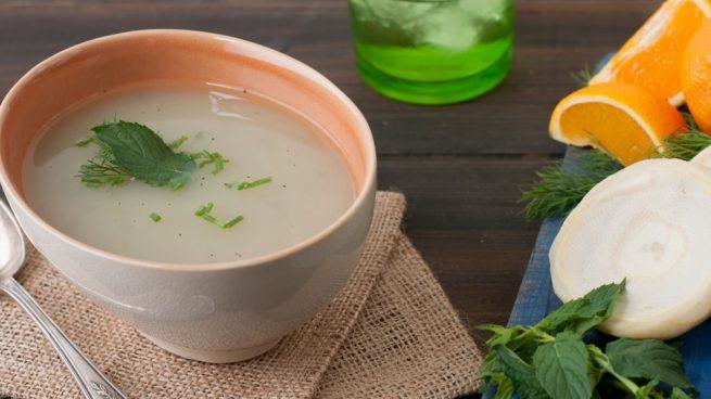 receta de caldo depurativo para el higado
