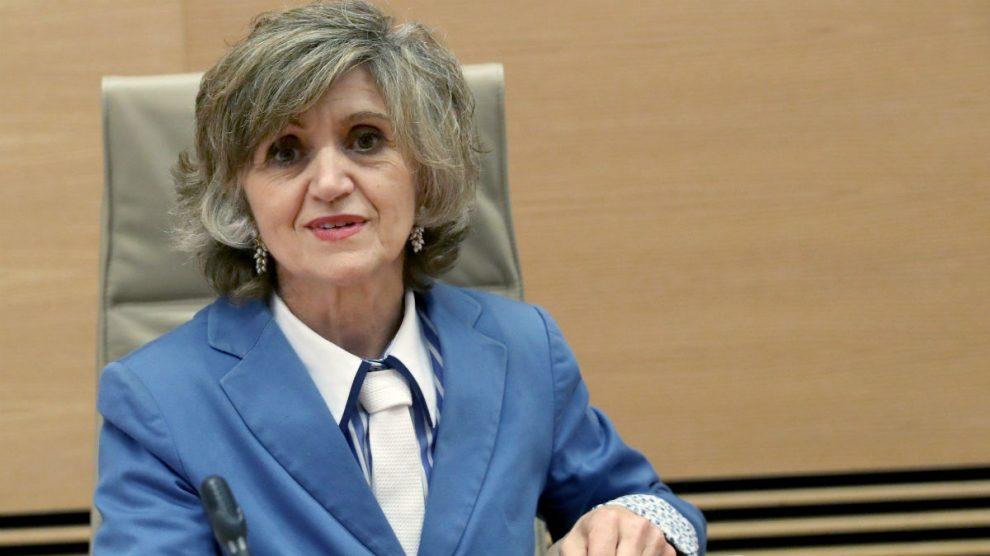 La ministra de Sanidad, María Luisa Carcedo (EFE).