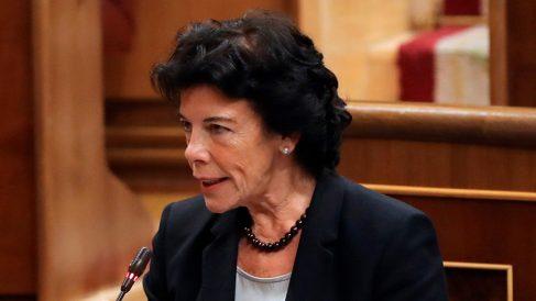 Isabel Celáa, ministra de Educación.