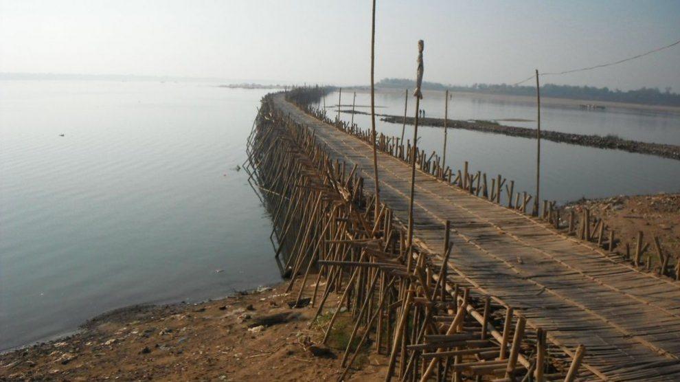 Conoce el puente de bambú más largo del planeta