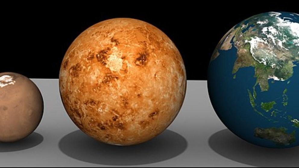 Descubre si pudieron tener vida Venus, la Tierra y Marte a la vez
