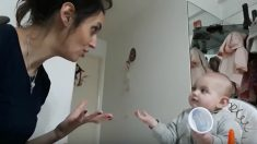 Divertida conversación entre una madre y su bebé que se ha convertido en viral
