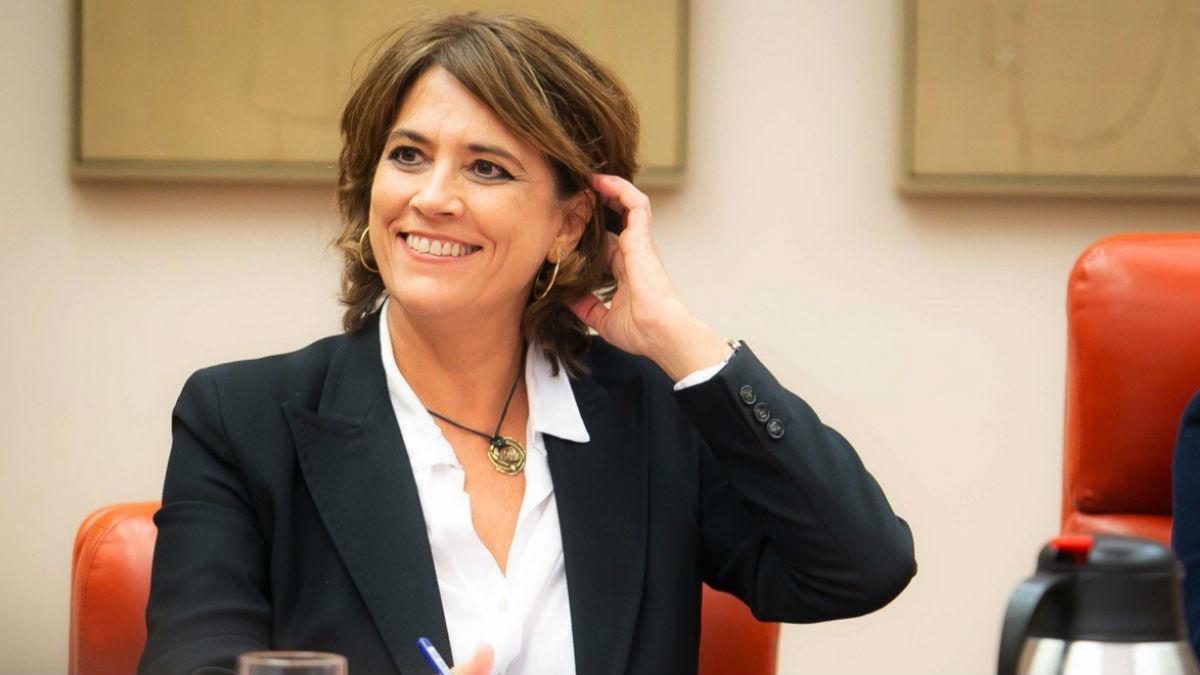 La ex ministra de Justicia en funciones, Dolores Delgado.