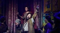 Una escena del musical 'El Médico' que lleva a los escenarios la novela homónima de Noah Gordon. Foto: Europa Press