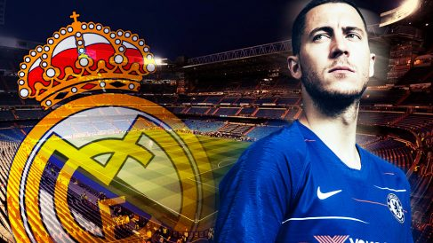 Eden Hazard, objetivo del Real Madrid.