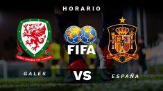 Gales – España: partido internacional amistoso.