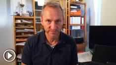 El cazador de plagios Martin Heidingsfelder, en una entrevista exclusiva para OKDIARIO el pasado octubre.