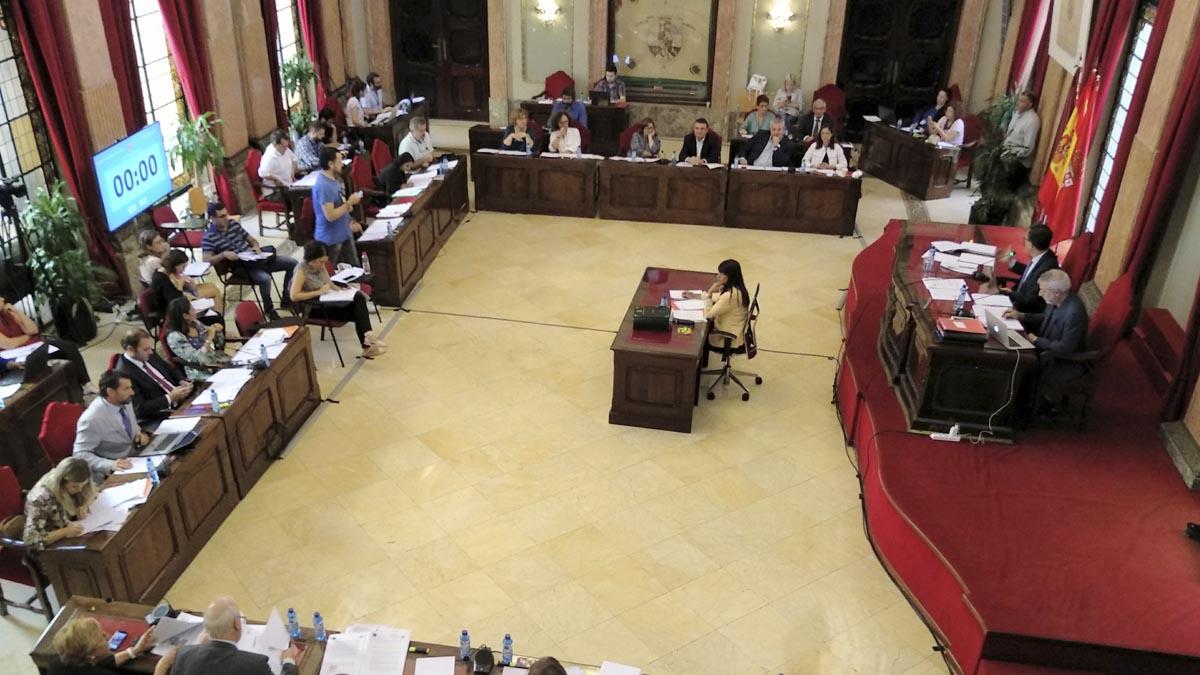 Pleno del Ayuntamiento de Murcia. Foto: Europapress