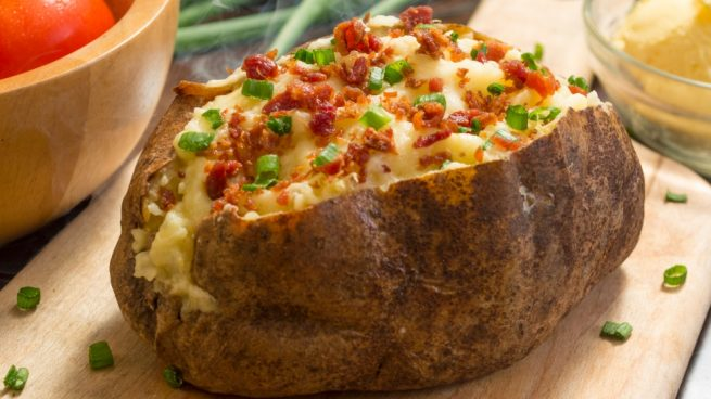 patatas rellenas de berenjenas