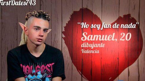 Samuel ha demostrado ser un conocedor de la geografía española en 'First Dates'