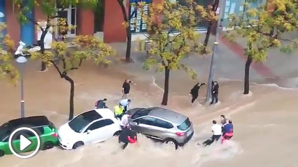 Espectacular rescate en Tarragona.