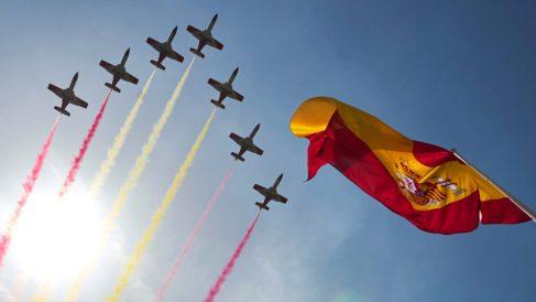 Desfile del Día de la Fiesta Nacional.