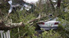 El huracán 'Michael' a su paso por Florida. (Foto: AFP)
