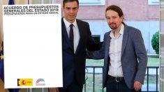 Las redes estallan contra el uso partidista del logotipo del Gobierno por parte de Sánchez