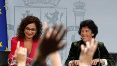 Maria Jesus Montero e Isabel Celáa.