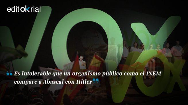 Nazismo es lo que hacen con Abascal