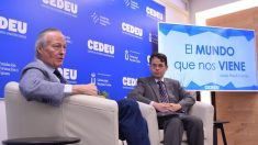 El exministro, Josep Piqué, en la masterclass organizada por CEDEU.